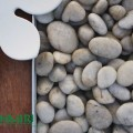 pebbles, white pebbles, landscaping pebbles, decorative pebbles, polished pebbles