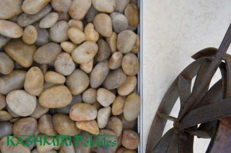 Kashmiri Polished Yellow Pebbles
