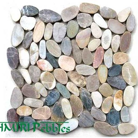 Kashmiri Cut Mixed Mosaic Pebble Tiles