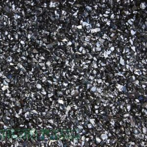 Kashmiri Crushed Glass Crystal Black