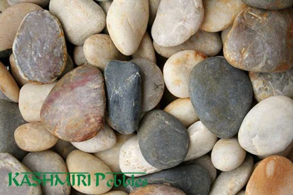 Kashmiri Mixed Natural Pebbles