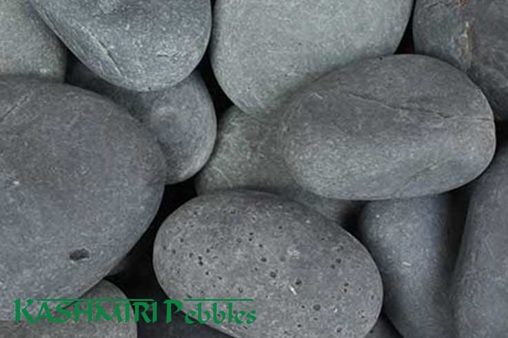 Kashmiri Sino Black Natural Pebbles