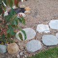 granite pavers, stepping stones